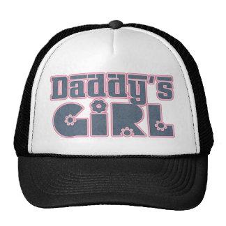 El chica del papá gorras de camionero