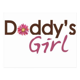El chica del papá postal