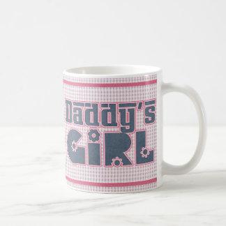 El chica del papá taza
