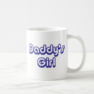 El chica del papá taza clásica