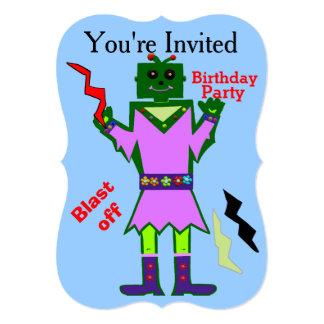 """El chica del robot arruina apagado y protagoniza a invitación 5"""" x 7"""""""