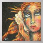 El chica del SeaShell. Arte original por el ~Riv:) Poster