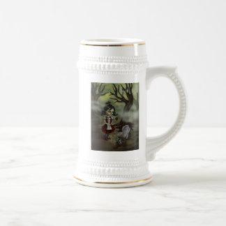 El chica del zombi encuentra amor verdadero en un jarra de cerveza