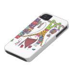 el chica explora la ciudad en el caso del iphone Case-Mate iPhone 4 coberturas
