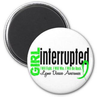 El chica interrumpió 1 enfermedad de Lyme Imán Redondo 5 Cm