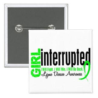 El chica interrumpió 1 enfermedad de Lyme Pin