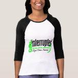 El chica interrumpió 1 enfermedad de Lyme Tee Shirts