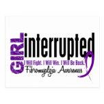 El chica interrumpió 1 Fibromyalgia Postal