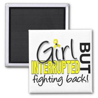 El chica interrumpió la endometriosis 2 imán cuadrado