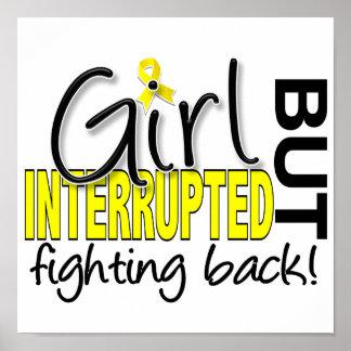 El chica interrumpió la endometriosis 2 posters