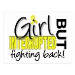 El chica interrumpió la endometriosis 2 postales
