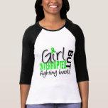 El chica interrumpió la enfermedad de 2 Lyme Camisetas