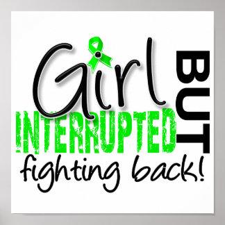 El chica interrumpió la enfermedad de 2 Lyme Póster