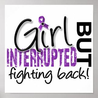 El chica interrumpió la epilepsia 2 póster