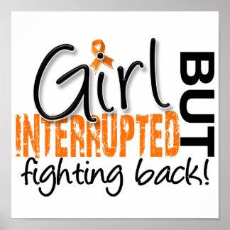 El chica interrumpió la esclerosis múltiple 2 póster