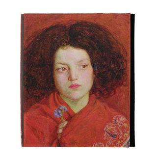 El chica irlandés, 1860 (aceite en la lona colocad