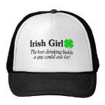 El chica irlandés el mejor compinche de consumició gorros bordados