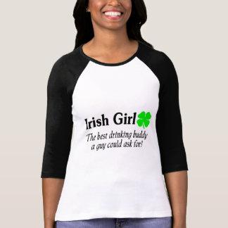 El chica irlandés el mejor compinche de consumició camisetas