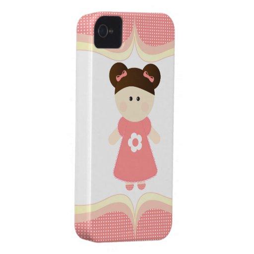 El chica más dulce - caso del iPhone Case-Mate iPhone 4 Coberturas