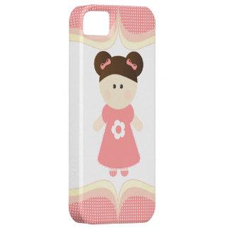 El chica más dulce - caso del iPhone iPhone 5 Fundas
