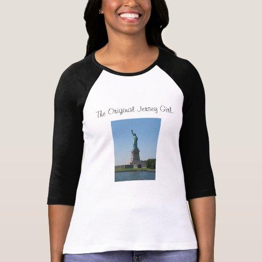 el chica original del jersey., el jersey original… camiseta