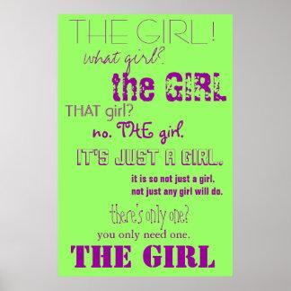 El chica póster