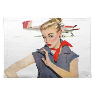 El chica que robó los aeroplanos manteles