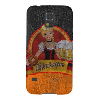 El chica retro Samsung de Oktoberfest Waitres del  Carcasa Para Galaxy S5