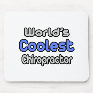 El Chiropractor más fresco del mundo Alfombrillas De Ratón
