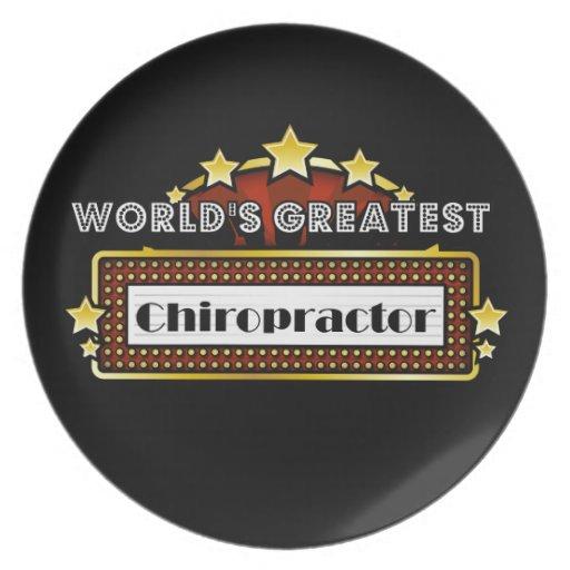 El Chiropractor más grande del mundo Plato