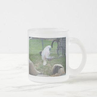 El chirrido y las ovejas taza cristal mate
