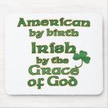 El chiste americano irlandés Mousepads Tapete De Raton