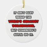 El chiste más grande del calderero del mundo ornamentos de navidad