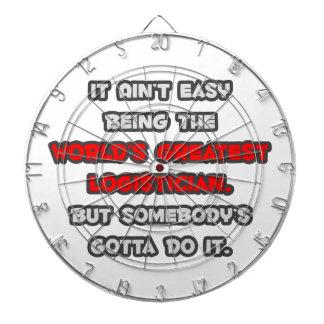 El chiste más grande del lógico del mundo tablero dardos