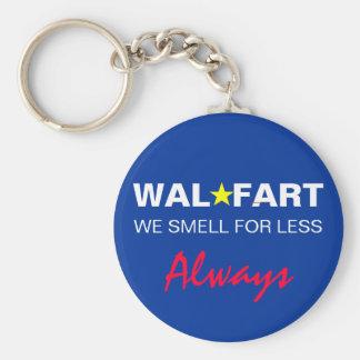 El chiste no maduro del centro comercial de Wal so Llavero Redondo Tipo Pin