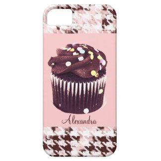 El chocolate asperja la magdalena iPhone 5 carcasa
