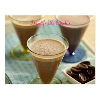 El chocolate caliente de Donnelly Postales