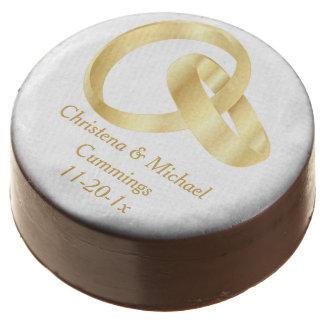 El chocolate con leche de los anillos de bodas