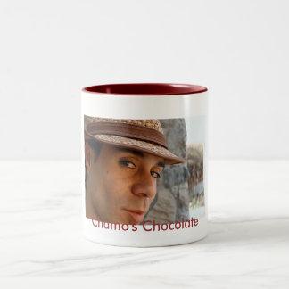 El chocolate de Chamo Taza De Dos Tonos
