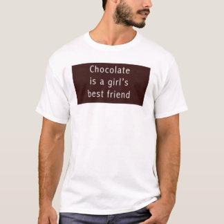 El chocolate es el mejor amigo de un chica playera