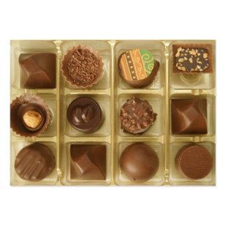 el chocolate es música a mis oídos tarjetas de visita