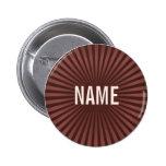El chocolate trabaja el botón conocido pins