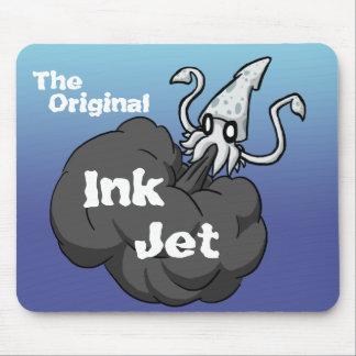 El chorro de tinta original alfombrilla de ratón