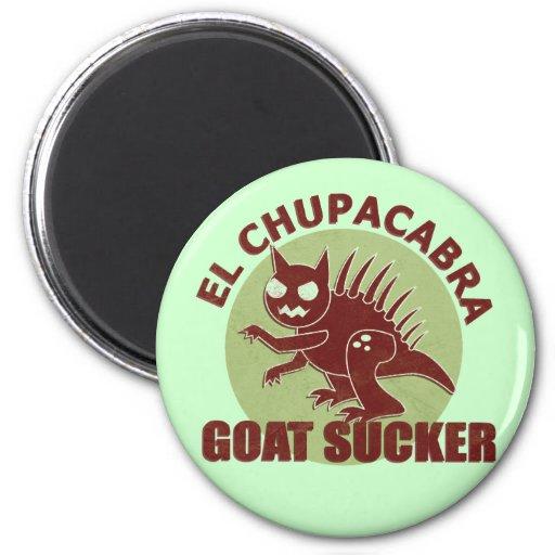 El Chupacabra 2 Inch Round Magnet