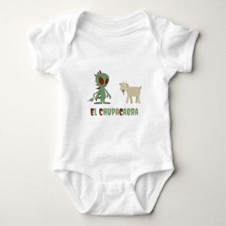 El Chupacabra Baby Bodysuit
