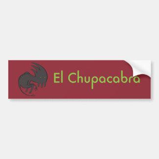 El Chupacabra Bumper Sticker