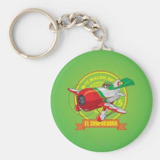 El Chupacabra - Muy Macho. No? Basic Round Button Keychain