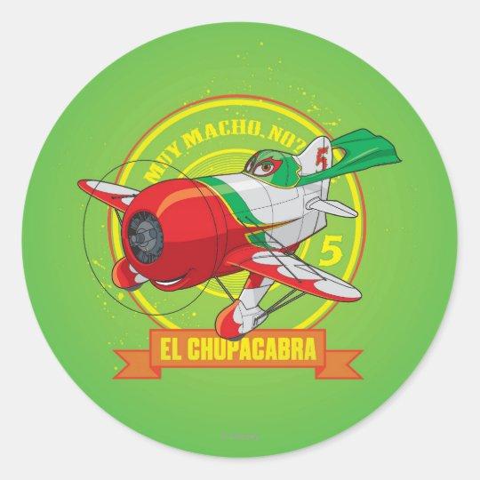 El Chupacabra - Muy Macho. No? Classic Round Sticker
