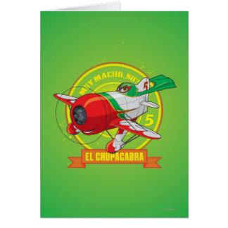 El Chupacabra - Muy Macho. No? Greeting Card