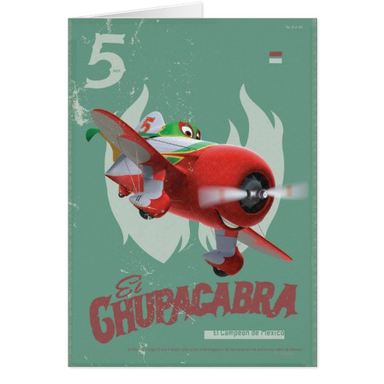 El Chupacabra No.5 Card